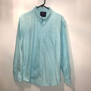 American Eagle turquoise button up